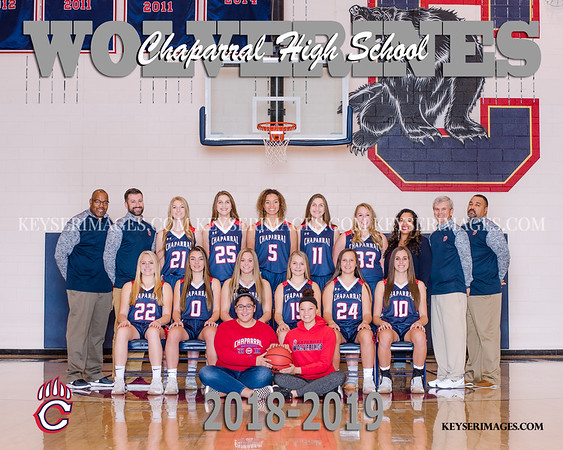 2018-2019 CHAPARRAL GIRLS BASKETBALL
