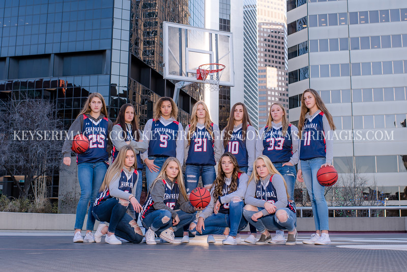 2018-2019 CHAPARRAL GIRLS VARSITY BASKETBALL