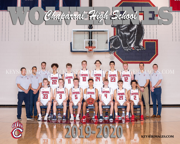 2019-2020 CHAPARRAL BOYS BASKETBALL TEAMS