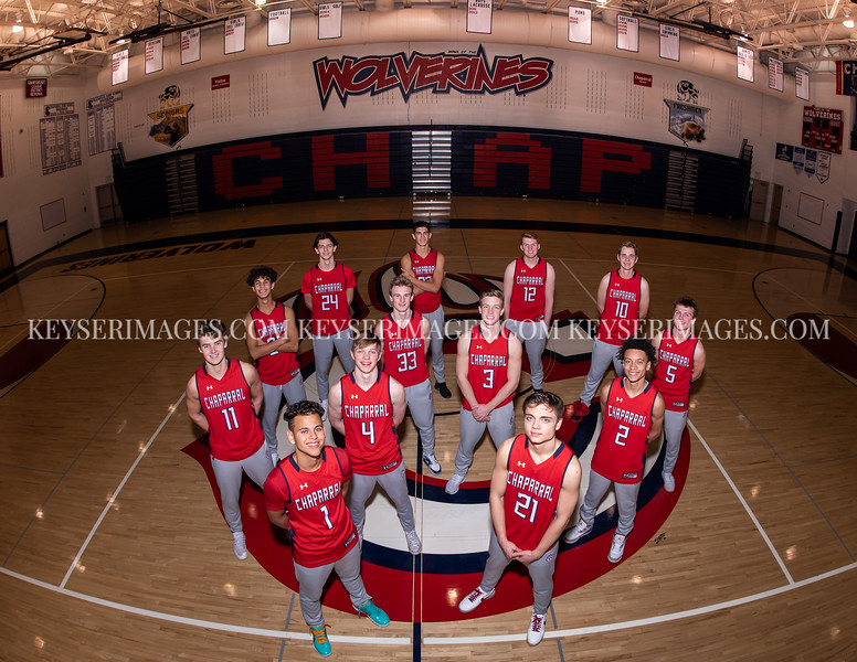 2019-2020 CHAPARRAL BOYS VARSITY BASKETBALL