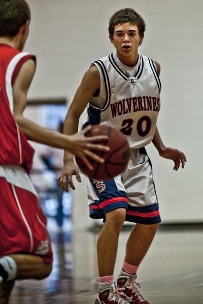 Chap Boys Basketball vs Regis-5015