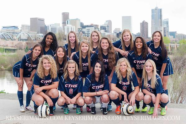 2013-2014 Cherokee Trail Girls Soccer