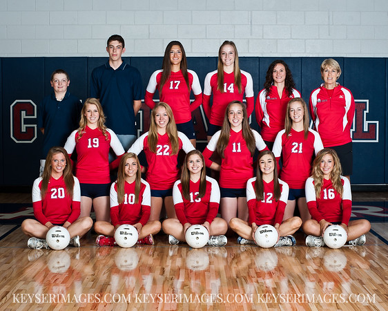 2011 - Chaparral Girls Volleyball - Varsity