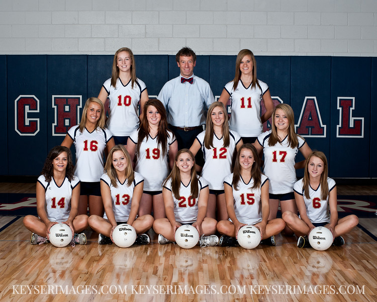 2011 - Chaparral Girls Volleyball - JV