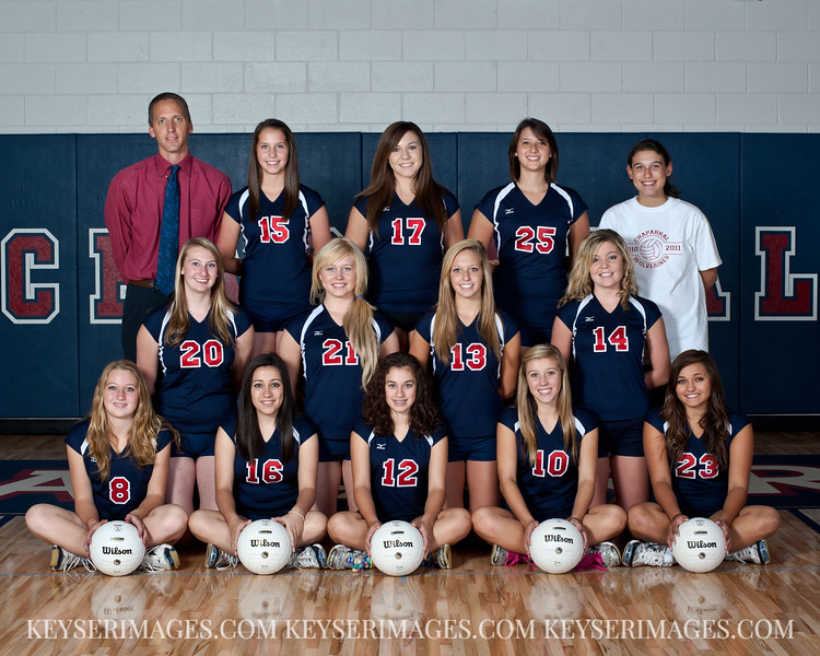 2011 - Chaparral Girls Volleyball - Sophomore