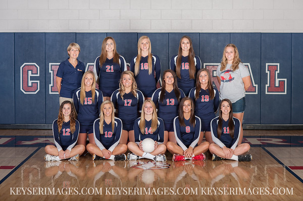 2013 Chaparral Volleyball