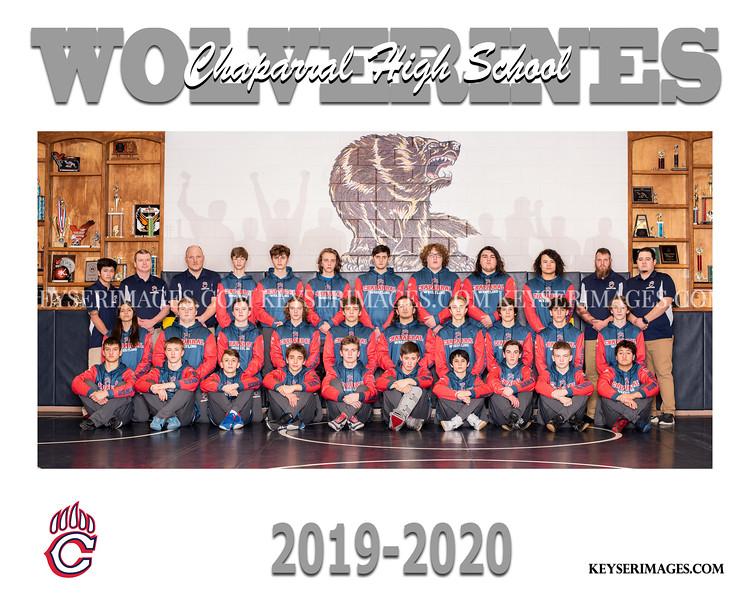 2019-2020 CHAPARRAL WRESTLING
