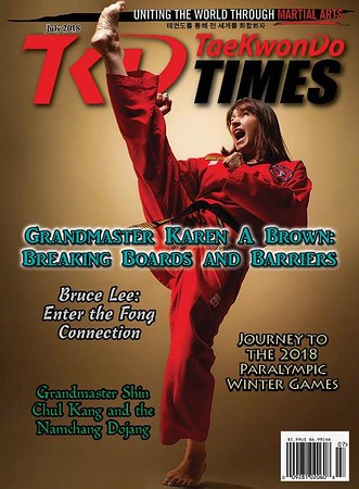 Tae Kwon Do Times with Grand master Karen Brown