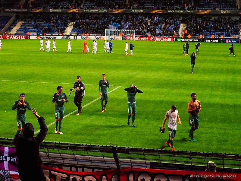 Peña Athletic 1-7 Bruselas
