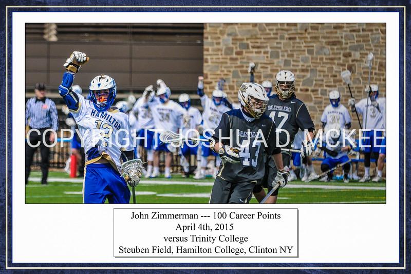 Zimmerman 100th Point