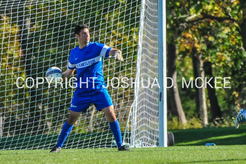M Soccer v Amherst 10-10-15-782