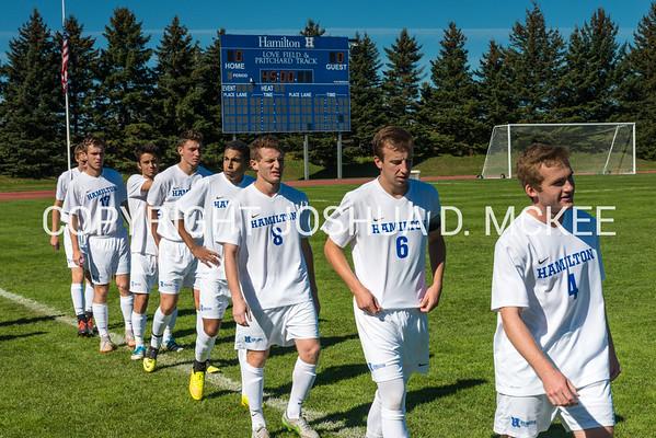 M Soccer v Amherst 10-10-15-14