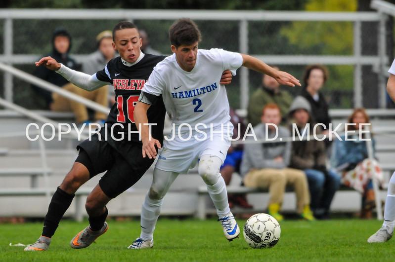 M Soccer v Wesleyan 10-3-15-1290