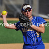 Hamilton College infielder Jodi Weiss (9)<br /> <br /> 4/14/17 4:30:23 PM Hamilton College Softball v. Middlebury College, at Loop Road Softball/Baseball Complex, Hamilton College, Clinton, NY<br /> <br /> Photo by Josh McKee