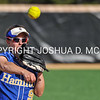 Hamilton College infielder Jodi Weiss (9)<br /> <br /> 4/14/17 4:30:27 PM Hamilton College Softball v. Middlebury College, at Loop Road Softball/Baseball Complex, Hamilton College, Clinton, NY<br /> <br /> Photo by Josh McKee
