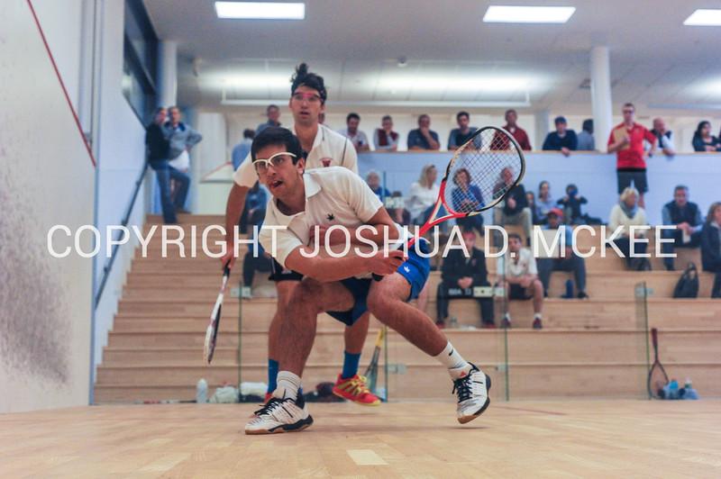 11/19/16 2:19:07 PM Hamilton College Men's Squash v Wesleyan College at Little Squash Center, Hamilton College, Clinton, NY<br /> <br /> Photo by Josh McKee