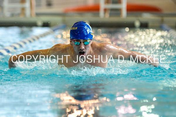 1/21/17 3:19:47 PM Hamilton College Swimming and Diving vs Union College in Bristol Pool, Hamilton College, Clinton, NY <br /> <br /> Photo by Josh McKee
