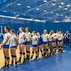 Hamilton College Volleyball v Bowdoin at Margaret Bundy Scott Field House on Saturday, October 8th, 2016 at 4:00pm