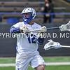 Hamilton College attacker Adam Markhoff (12)<br /> <br /> 4/15/17 12:52:46 PM Hamilton College Men's Lacrosse v. Connecticut College at Steuben Field, Hamilton College, Clinton, NY<br /> <br /> Photo by Josh McKee