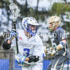Hamilton College attacker Chad Morse (3)<br /> <br /> 4/22/17 1:11:49 PM Hamilton College Men's Lacrosse v. Trinity College at Steuben Field, Hamilton College, Clinton, NY<br /> <br /> Photo by Josh McKee