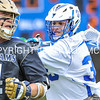 Hamilton College attacker Nate Weinrauch (35)<br /> <br /> 4/22/17 1:15:46 PM Hamilton College Men's Lacrosse v. Trinity College at Steuben Field, Hamilton College, Clinton, NY<br /> <br /> Photo by Josh McKee