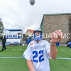Hamilton College goalkeeper John Schisler (22)<br /> <br /> 4/22/17 12:44:49 PM Hamilton College Men's Lacrosse v. Trinity College at Steuben Field, Hamilton College, Clinton, NY<br /> <br /> Photo by Josh McKee