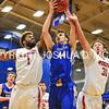1/7/17 3:06:00 PM Hamilton College Men's Basketball v #9 Wesleyan College at Margaret Bundy Scott Field House, Hamilton College, Clinton, NY  Hamilton won 92-76.<br /> <br /> Photo by Josh McKee