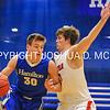 1/7/17 3:07:38 PM Hamilton College Men's Basketball v #9 Wesleyan College at Margaret Bundy Scott Field House, Hamilton College, Clinton, NY  Hamilton won 92-76.<br /> <br /> Photo by Josh McKee