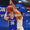 1/7/17 3:08:13 PM Hamilton College Men's Basketball v #9 Wesleyan College at Margaret Bundy Scott Field House, Hamilton College, Clinton, NY  Hamilton won 92-76.<br /> <br /> Photo by Josh McKee