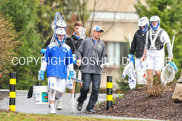Assistant Coach Johansmeyer<br /> <br /> 4/11/17 6:09:53 PM Hamilton College Men's Lacrosse v Williams College, at Withiam Field, Hamilton College, Clinton, NY<br /> <br /> Photo by Josh McKee