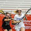 3/11/17 3:10:36 PM Hamilton College Women's Lacrosse v. Wesleyan University at the Carrier Dome, Syracuse University, Syracuse, NY<br /> <br /> Hamilton College midfielder Kara Pooley (5)<br /> <br /> Final: Hamilton 7  Wesleyan 8<br /> <br /> Photo by Josh McKee