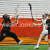 3/11/17 3:10:14 PM Hamilton College Women's Lacrosse v. Wesleyan University at the Carrier Dome, Syracuse University, Syracuse, NY<br /> <br /> Hamilton College midfielder Darby Philbrick (13)<br /> <br /> Final: Hamilton 7  Wesleyan 8<br /> <br /> Photo by Josh McKee