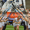 3/11/17 3:03:56 PM Hamilton College Women's Lacrosse v. Wesleyan University at the Carrier Dome, Syracuse University, Syracuse, NY<br /> <br /> Hamilton College midfielder Jackie Cuddy (7)<br /> <br /> Final: Hamilton 7  Wesleyan 8<br /> <br /> Photo by Josh McKee