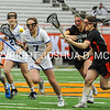 3/11/17 3:09:40 PM Hamilton College Women's Lacrosse v. Wesleyan University at the Carrier Dome, Syracuse University, Syracuse, NY<br /> <br /> Hamilton College midfielder Jackie Cuddy (7)<br /> <br /> Final: Hamilton 7  Wesleyan 8<br /> <br /> Photo by Josh McKee