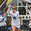 Hamilton College attacker Nora Klemmer (16)<br /> <br /> 4/1/17 12:01:53 PM Hamilton College Women's Lacrosse v. Bates College, at Steuben Field, Hamilton College, Clinton, NY<br /> <br /> Hamilton 13  Bates 5<br /> <br /> Photo by Josh McKee