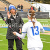 Coach Kloidt<br /> <br /> 4/1/17 12:01:42 PM Hamilton College Women's Lacrosse v. Bates College, at Steuben Field, Hamilton College, Clinton, NY<br /> <br /> Hamilton 13  Bates 5<br /> <br /> Photo by Josh McKee
