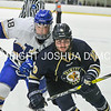3/5/17 2:32:26 PM NESCAC MEN'S HOCKEY FINAL Hamilton College v Trinity College at Russell Sage Rink, Hamilton College, Clinton, NY<br /> <br /> Trinity won 3-2 in OT<br /> <br /> Photo by Josh McKee