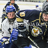 3/5/17 2:07:53 PM NESCAC MEN'S HOCKEY FINAL Hamilton College v Trinity College at Russell Sage Rink, Hamilton College, Clinton, NY<br /> <br /> Trinity won 3-2 in OT<br /> <br /> Photo by Josh McKee