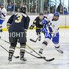 3/5/17 2:06:44 PM NESCAC MEN'S HOCKEY FINAL Hamilton College v Trinity College at Russell Sage Rink, Hamilton College, Clinton, NY<br /> <br /> Trinity won 3-2 in OT<br /> <br /> Photo by Josh McKee