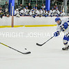 3/5/17 2:31:56 PM NESCAC MEN'S HOCKEY FINAL Hamilton College v Trinity College at Russell Sage Rink, Hamilton College, Clinton, NY<br /> <br /> Trinity won 3-2 in OT<br /> <br /> Photo by Josh McKee