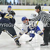 3/5/17 2:07:03 PM NESCAC MEN'S HOCKEY FINAL Hamilton College v Trinity College at Russell Sage Rink, Hamilton College, Clinton, NY<br /> <br /> Trinity won 3-2 in OT<br /> <br /> Photo by Josh McKee