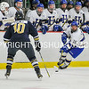 3/5/17 2:11:48 PM NESCAC MEN'S HOCKEY FINAL Hamilton College v Trinity College at Russell Sage Rink, Hamilton College, Clinton, NY<br /> <br /> Trinity won 3-2 in OT<br /> <br /> Photo by Josh McKee