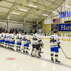 2/25/17 1:02:37 PM Hamilton College Men's Hockey v Bowdoin College in a NESCAC Quarterfinal at Russell Sage Rink, Hamilton College, Clinton, NY<br /> <br /> Photo by Josh McKee