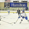 2/25/17 1:21:53 PM Hamilton College Men's Hockey v Bowdoin College in a NESCAC Quarterfinal at Russell Sage Rink, Hamilton College, Clinton, NY<br /> <br /> Photo by Josh McKee
