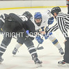 2/25/17 1:23:50 PM Hamilton College Men's Hockey v Bowdoin College in a NESCAC Quarterfinal at Russell Sage Rink, Hamilton College, Clinton, NY<br /> <br /> Photo by Josh McKee