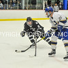 2/25/17 1:17:19 PM Hamilton College Men's Hockey v Bowdoin College in a NESCAC Quarterfinal at Russell Sage Rink, Hamilton College, Clinton, NY<br /> <br /> Photo by Josh McKee