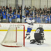 2/25/17 2:25:43 PM Hamilton College Men's Hockey v Bowdoin College in a NESCAC Quarterfinal at Russell Sage Rink, Hamilton College, Clinton, NY<br /> <br /> Photo by Josh McKee
