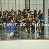 2/25/17 2:03:00 PM Hamilton College Men's Hockey v Bowdoin College in a NESCAC Quarterfinal at Russell Sage Rink, Hamilton College, Clinton, NY<br /> <br /> Photo by Josh McKee
