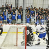 2/25/17 2:02:32 PM Hamilton College Men's Hockey v Bowdoin College in a NESCAC Quarterfinal at Russell Sage Rink, Hamilton College, Clinton, NY<br /> <br /> Photo by Josh McKee