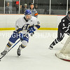 2/25/17 1:20:35 PM Hamilton College Men's Hockey v Bowdoin College in a NESCAC Quarterfinal at Russell Sage Rink, Hamilton College, Clinton, NY<br /> <br /> Photo by Josh McKee